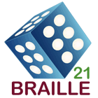 Braille21-Logo